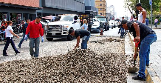 Alcaldía de Caracas embellece la ciudad con nuevos bulevares