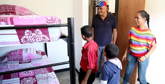 Nuevas familias dignificadas en Antímano