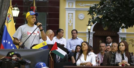 Acto de Palestina en la Plaza Bolivar (21)