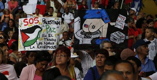 Acto de Palestina en la Plaza Bolivar (6)