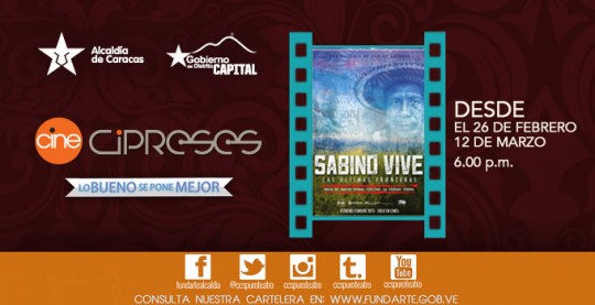 Arte WEB_CINE CIPRESES2 PELICULA SABINO VIVE