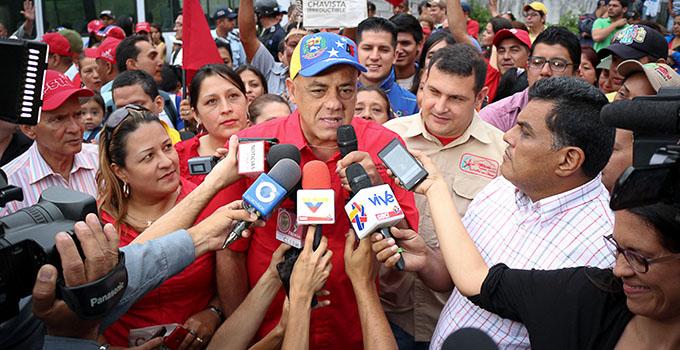 2-JORGE RODRIGUEZ (JEFE POLITICO PSUV-ALCALDE DE CARACAS)