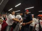 Adultos mayores brindan apoyo al Alcalde de Caracas. 26 de noviembre de 2013