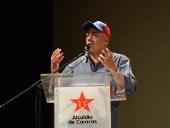 Alcalde de Caracas presentó avances del gran Parque Hugo Chávez. 19 de noviembre de 2013