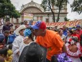 Alcalde de Caracas reinauguró plaza Capuchinos. 27 de noviembre de 2013