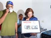 Cambio de ranchos por viviendas dignas en sector Hierbabuena. 21 de noviembre de 2013