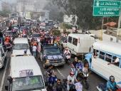 Caravana en El Junquito. 30 de noviembre de 2013