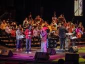 Concierto de música clásica y urbana en el Teatro Municipal. 3 de diciembre de 2013