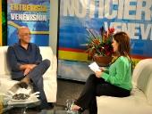 Entrevista a Jorge Rodríguez en el Noticiero de Venevisión. 5 de diciembre de 2013
