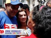 Jorge Rodríguez en inauguración de exposición con imágenes del Comandante Hugo Chávez. 4 de octubre de 2013