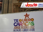 Te Quiero Caracas. Jorge Rodríguez, Alcalde Libertador