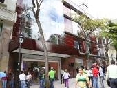 Inauguración de la nueva fachada del Teatro Bolívar. 18 de diciembre de 2013
