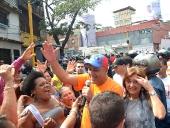 Inauguración de Nodo en la avenida Sucre de la parroquia Sucre. 27 de noviembre de 2013