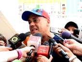Jorge Rodríguez ejerció su derecho al voto en Elecciones Municipales. 8 de diciembre de 2013