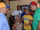 Jorge Rodríguez en recorrido Casa por Casa en sector Lídice de La Pastora. 17 de noviembre de 2013