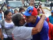 Jorge Rodríguez entrega viviendas en Santa Rosa. 28 de noviembre de 2013
