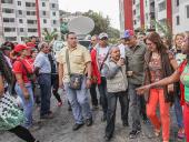 Jorge Rodríguez entrega viviendas en Urbanismo en La Vega. 7 de diciembre de 2013