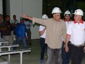 Jorge Rodríguez inaugura fábrica Tecno Hábitat. 7 de diciembre de 2013