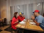 Jorge Rodríguez inaugura restaurant El Solar del Teatro. 22 de noviembre de 2013