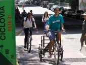 Jorge Rodríguez inauguró segundo tramo de la Ciclovía. 17 de noviembre de 2013