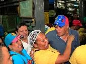Jorge Rodríguez inspeccionó Mercado de Quinta Crespo. 29 de noviembre de 2013