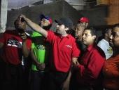 Jorge Rodríguez realiza inspección al teatro La Alameda. 26 de noviembre de 2013