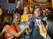Jorge Rodríguez realizó Casa por Casa en el Barrio San Miguel. 20 de noviembre de 2013