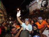 Jorge Rodríguez recorrió El Guarataro. 30 de noviembre de 2013