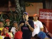 Jorge Rodríguez se reunió con 47 UBCH de la parroquia El Recreo. 26 de noviembre de 2013