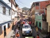 La Vega acompañó a Jorge Rodríguez en caravana. 4 de diciembre de 2013