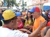 Reinauguración de la Plaza El Cristo en la parroquia Sucre. 27 de noviembre 2013