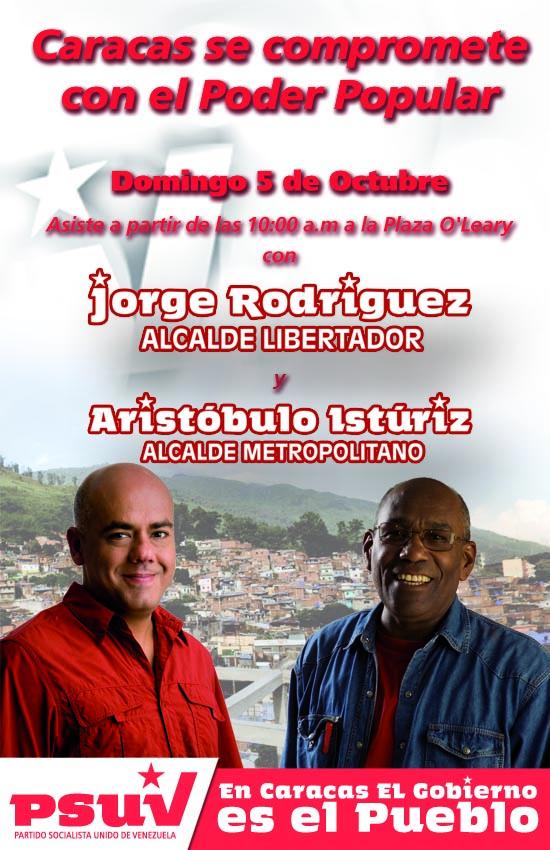 Caracas se compromete con el Poder Popular
