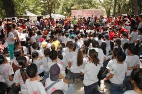 Participaron 9 mil niños del municipio Libertador