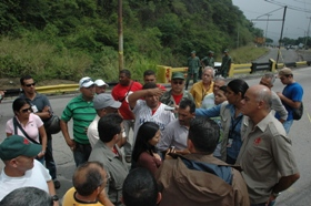 Carretera vieja Caracas la Guaira