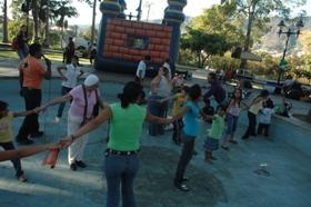Fiesta infantil en el Parque el Calvario