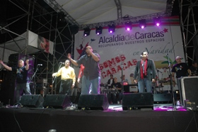 La gaita sonó en Plaza Venezuela
