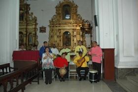 Misa de Aguinaldo iglesia San Francisco