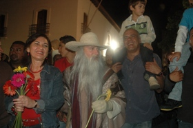 Pacheco llegó a Caracas
