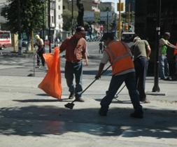 Operativo de limpieza 2010