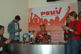 Movilización en defensa del proceso bolivariano