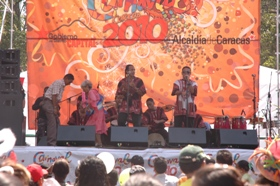 Carnaval Caracas 2010 cerró en Los Próceres