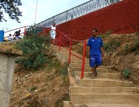 Estas escaleras ofrecen un tránsito seguro