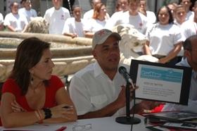 Alcalde Jorge Rodríguez en rueda de prensa