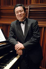 Con el pianista venezolano Sadao Muraki