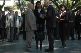 Alcalde de Moscú, Yuri Luzhkov, recibió las Llave de la ciudad