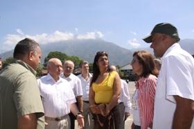 Visita oficia de Luzhkov a Caracas
