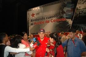 La Memoria y Cuenta resume el Plan Caracas Socialista