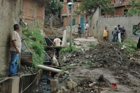 Inició despeje de cauces en 301 quebradas de las 22 parroquias