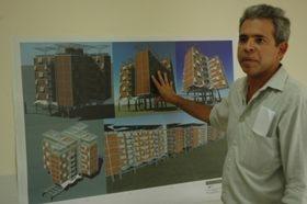Santa Rosa tendrá 10 edificios de 6 pisos para un total de 240 viviendas