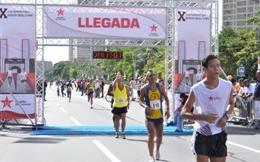 Ciudadanos hacen deporte en aniversario de Caracas